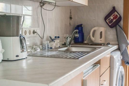 Bild - Küche der Ferienwohnung